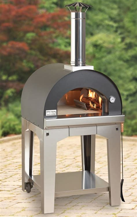build wood fired pizza oven your backyard why bother with delivery make your own pizza in this wood