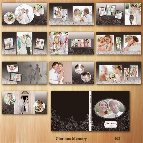 photoshop wedding album templates party invitations ideas
