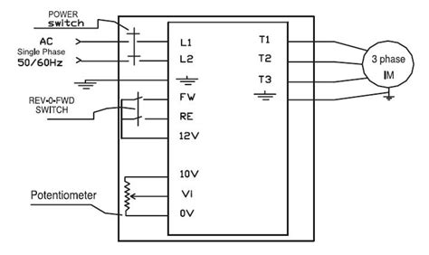 basic vfd wiring diagram wiring diagram hmi wiring