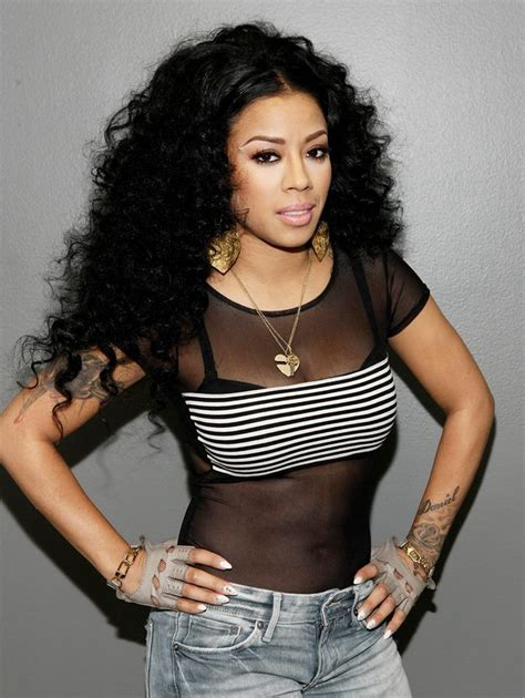 keyshia cole and frankie hairstyles keyshia cole with long and curly black hair on the