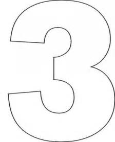 number three template printable number 0 quotes