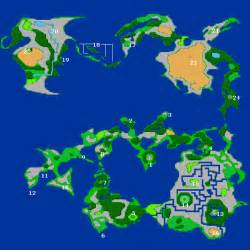 Ff2 World Map by Gallery For Gt Final Fantasy 3 Map