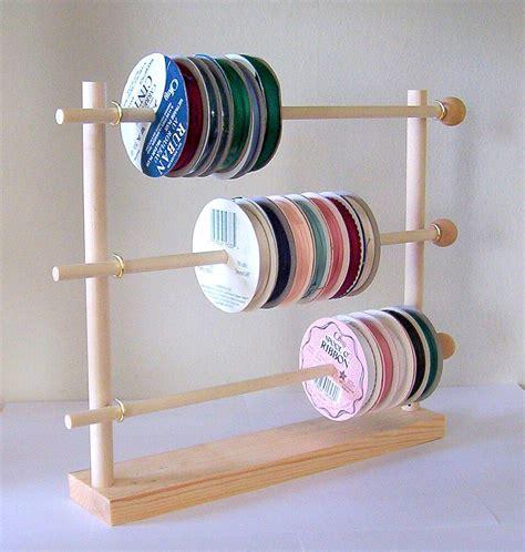Ribbon Spool Rack spool ribbon holder storage rack wire organizer