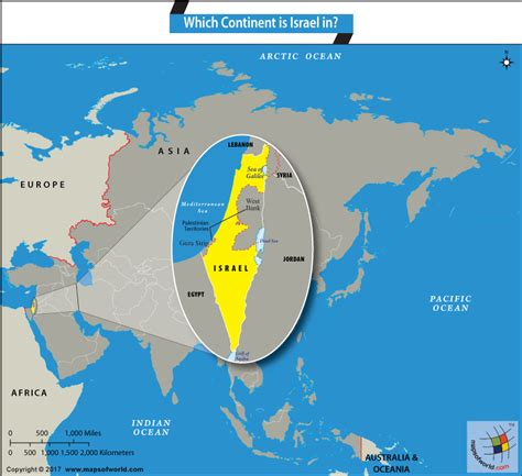 Which Continent Is Israel Located On The World Map - Gambarsurat.com