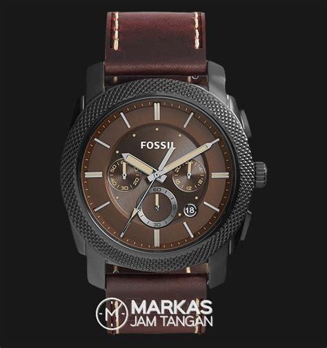 jual jam tangan pria fossil fs  machine chronograph