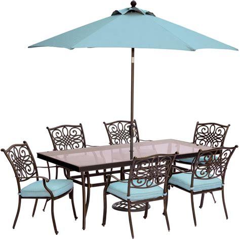 7pc Patio Dining Set Hton Bay Lemon Grove 7 Wicker Outdoor Dining Set With Surplus Cushion D11230 7pc The