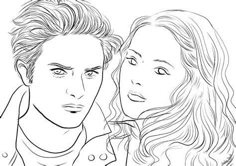 Free Coloring Pages Of Twilight Coloriage Twilight Coloring Pages