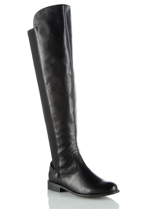 cato boots stretch back boots boots cato fashions