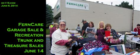 Garage Sales Oakland County by Ferncare Garage Sale Recreation Trunk And Treasure Sales