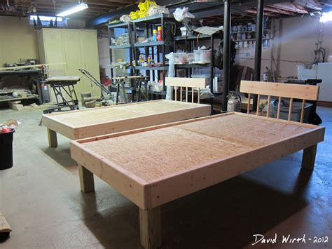 how to build a twin bed frame build bunkbed from bed frames