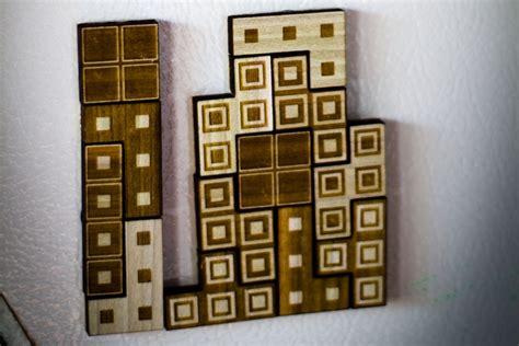 Tetrius Magnet Set by Tetris Magnet Set Lets You Play An Analog Of Tetris