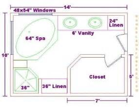 Bathroom Floor Plan Layout Bathroom Design Floor Plans On Free 10x14 Master Bath