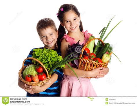 new year 7 vegetables smiling with vegetables in basket stock photo image