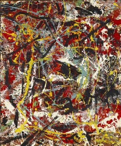 Jackson Pollock Essay by Nevermind Design S 3dd