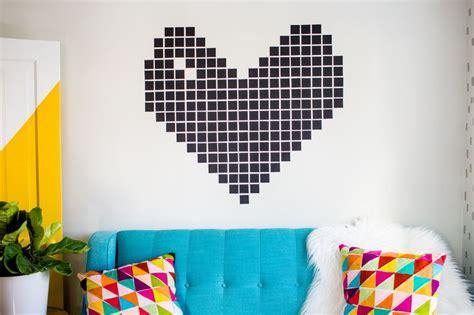 pattern tape wall art washi tape wall decor a beautiful mess