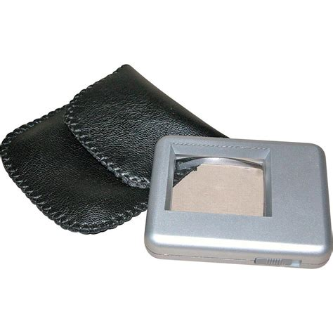 standard l with reading light reading magnifier incl light lens size l x w 38 mm x