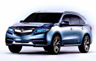 2016 acura mdx review redesign changes and colors car