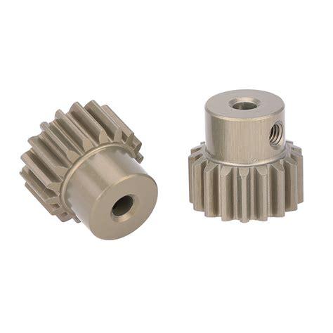 Hobbywing Pinion Gear 17t goolrc 2pcs 32dp 3 175mm 17t pinion motor gear set for 1 10 rc car brushed brushless motor