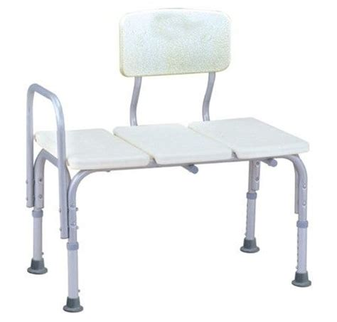 handicap shower bench height transfer adjustable lightweight durable handicap