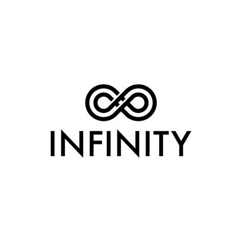 infinity tattoo logo infinity symbol logo vector premium download