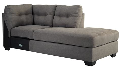 charcoal sectional buy ashley furniture 4520066 4520017 maier charcoal raf