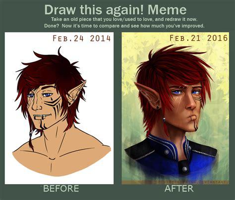 Hnnng Meme - vikenti draw this again meme by thewiggleking on deviantart