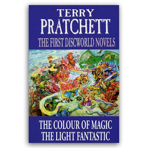 the color of magic book the colour of magic light fantastic terry pratchett