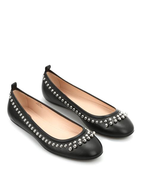 tods flat shoes leather flats by tod s flat shoes ikrix