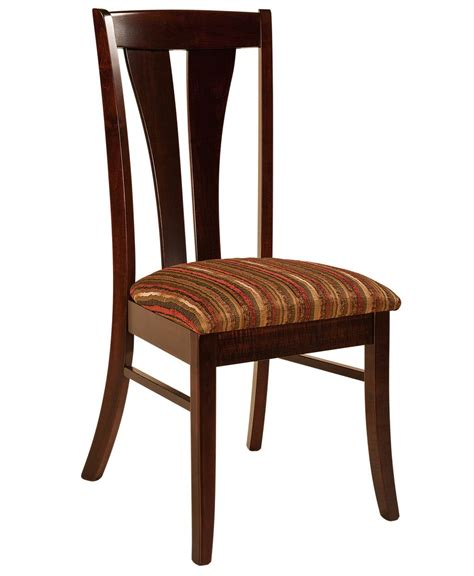 mansfield dining chair amish direct furniture