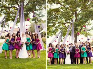 different color bridesmaid dresses the secrets for successful mismatched bridesmaids