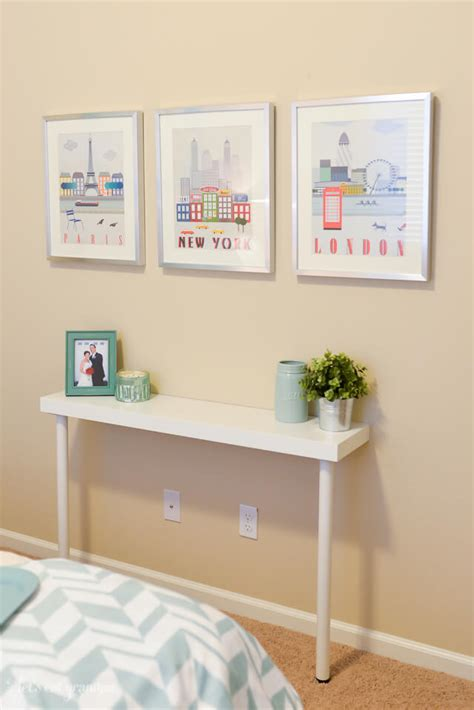 ikea console table hack simple ikea hack narrow console table hey let s make stuff