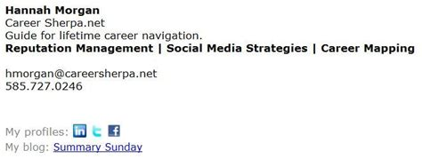 Mba Candidate Ucsd Emails by What You Aren T Using An Email Signature Career Sherpa