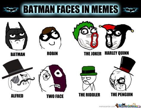 Batman Meme Face - batman faces in memes by jammyrolls meme center