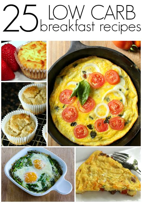 25 low carb breakfast recipes