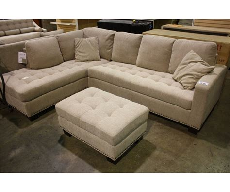 richmond fabric sectional richmond beige fabric 3 seat sofa section with chase