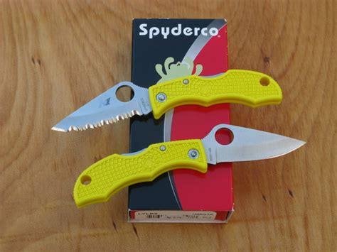 spyderco ladybug salt h1 spyderco ladybug salt knife h 1 steel lylp3 plain