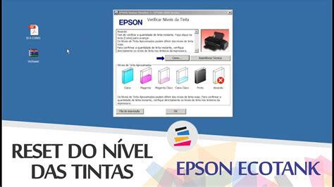 reset epson l200 nivel de tinta tutorial reset do n 237 vel das tintas epson ecotank