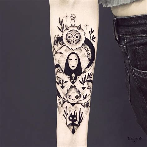 studio ghibli tattoo 23 geometric tattoos ideas arm studio ghibli and