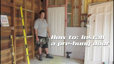 installing a prehung interior door with trim awesome home