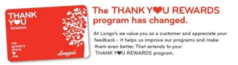 Thank You Rewards Gift Cards - changes to longo s thank you rewards card redemptions canadian freebies coupons