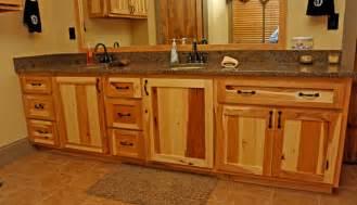 hickory bathroom cabinets hickory bathroom cabinets built custom cabinets