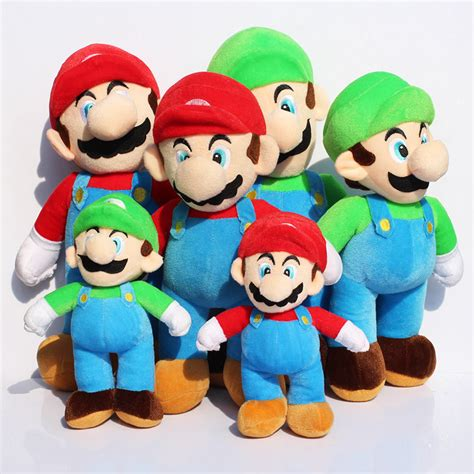 Boneka Mario Bros Luigi Big Size 40cm High Quality Terbaru japan mario plush reviews shopping japan mario plush reviews on aliexpress