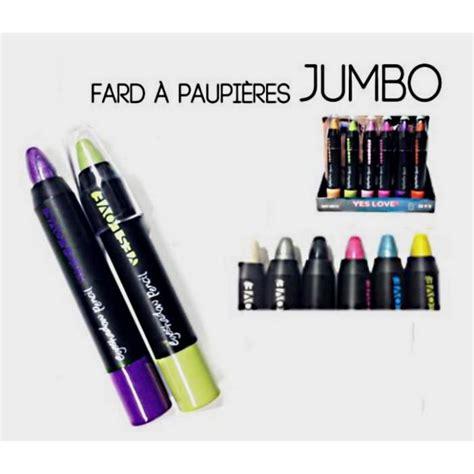 jumbo möbel discount lot de 6 stylo jumbo ombre a paupiere fard maquill achat