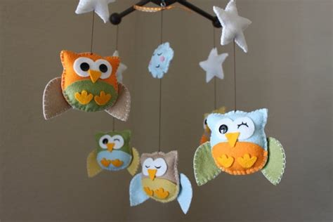 pattern for felt owl mobile 28 best images about baby mobile on pinterest butterfly