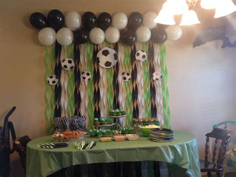 soccer themed birthday decorations best 25 soccer ideas on sports