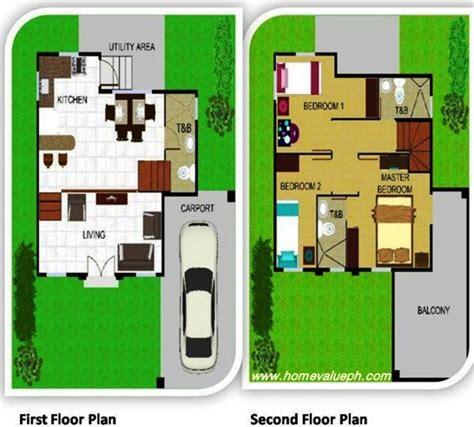 single detached house design single detached house floor plan house plans