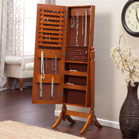 heritage jewelry armoire cheval mirror oak jewelry armoire mirror 100 images bedroom amazing