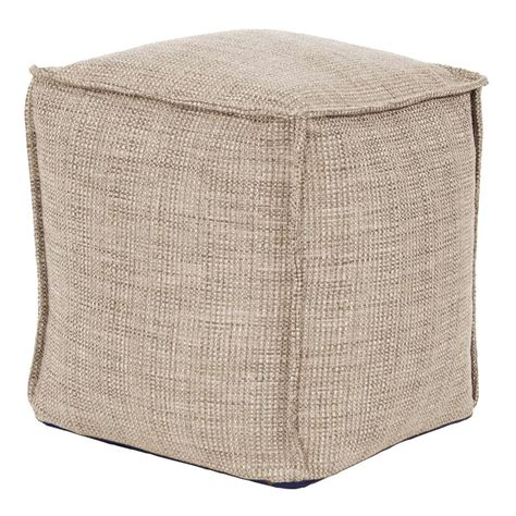 how to make a square pouf ottoman square pouf coco howard elliott