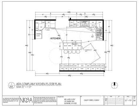 how to plan a kitchen kitchen floor plan ada compliant kitchen floor plan modified should client become handicapped
