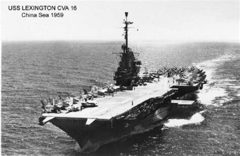 uss cv 16 deployments history